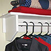 Closet Rod Shelf
