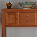 Shaker styled Huntboard, sideboard, kitchen work table