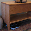 Combo Storage and Shoe Bench