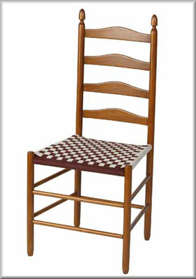 Shaker Side Chair With Ladderback