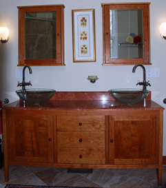 Good Shaker Vanity Double Sink